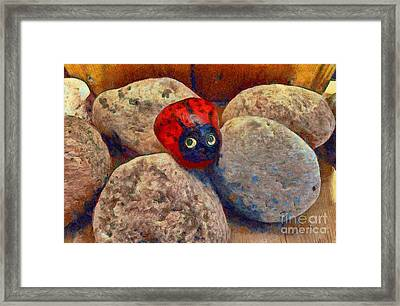 You Are Special  Framed Print by Claire Bull