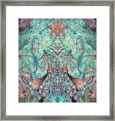You Are The Breath Framed Print
