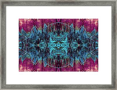 You Are The Frequency Framed Print