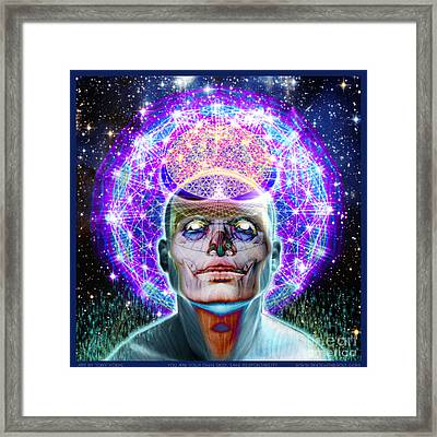 You Are Your Own God Take Responsablility Framed Print by Tony Koehl