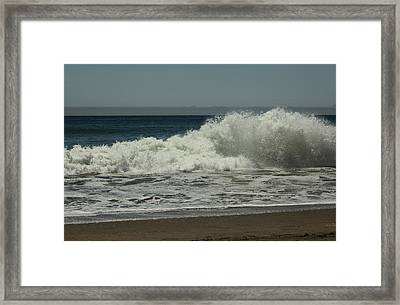 You Came Crashing Into Me Framed Print by Laurie Search