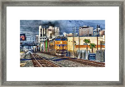 Framed Print featuring the photograph You Can Go Your Own Way by Michael Rogers