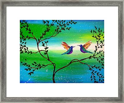 You Complete Me Framed Print by Cathy Jacobs