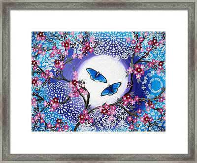 You Fill My Life With Joy Framed Print by Cathy Jacobs