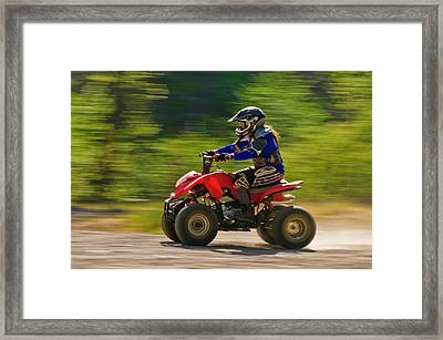 Framed Print featuring the photograph You Go Girl by Sherri Meyer