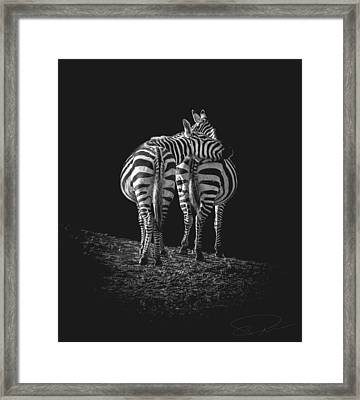 You've Got A Friend In Me Framed Print by Paul Neville