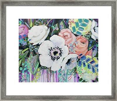 You Had Me At Hello Framed Print by Kristin Whitney