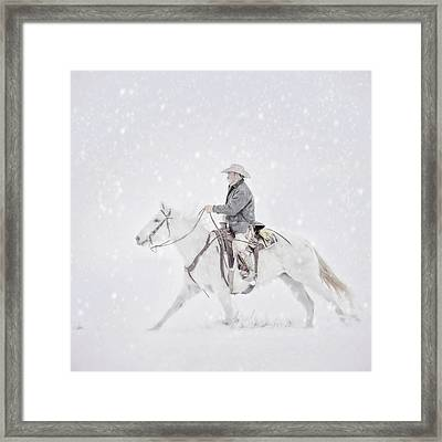 You Just Gotta Ride.... Framed Print