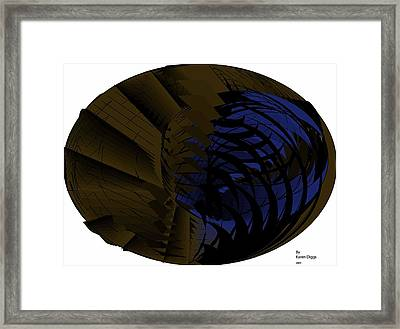 You Framed Print by Karen Diggs