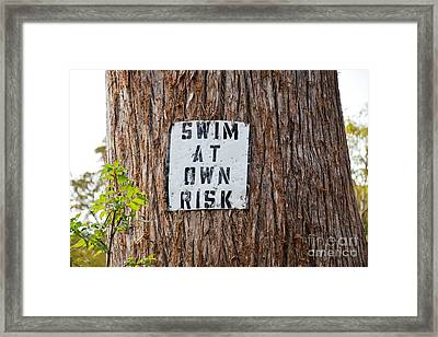 Framed Print featuring the photograph You Know Better ...  by Ray Shrewsberry