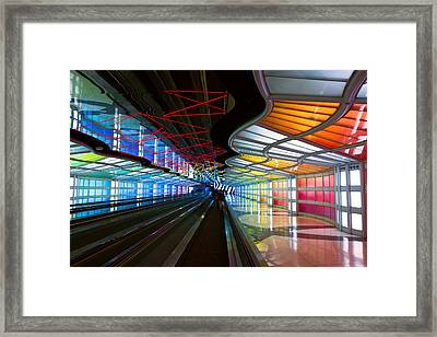 You Know You're In Chicago Framed Print by Daniel Hagerman