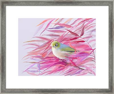 Framed Print featuring the painting You Looking At Me? by Ivana Westin
