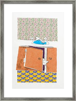 You Looking For Me Framed Print by Leela Payne