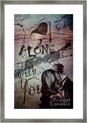 You Framed Print by Mo T