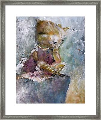 You Need A Hug Framed Print by Eleatta Diver
