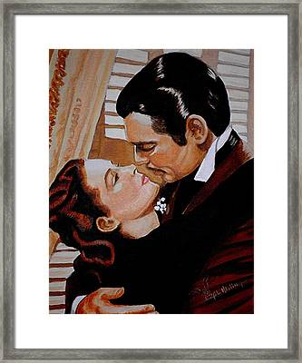 You Need Kissing Badly Framed Print by Al  Molina