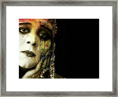 Framed Print featuring the mixed media You Never Got To Hear Those Violins by Paul Lovering