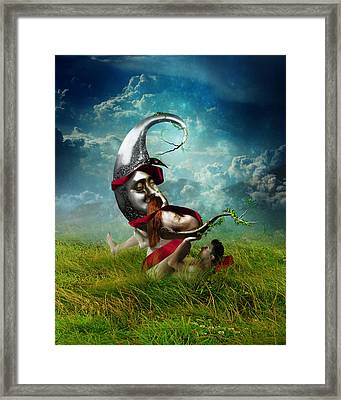 You Raise Me Up Framed Print