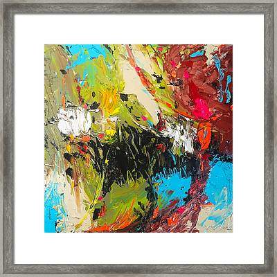 You See Things. You Keep Quiet. And You Understand Framed Print by Charles Wallis
