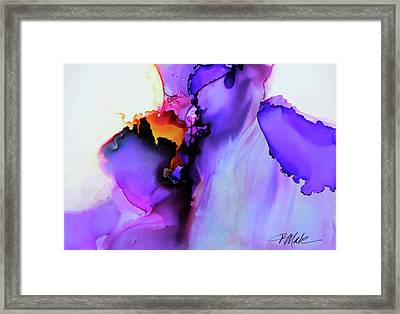You Set My Soul On Fire Framed Print
