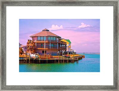 You Should See The Sunset Framed Print