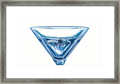 You Start With The Right Glass Framed Print by Rene Triay Photography