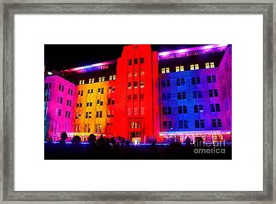 You Want Color - Vivid Sydney By Kaye Menner Framed Print by Kaye Menner