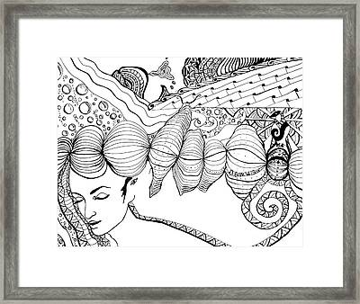 You Were In My Dream Framed Print