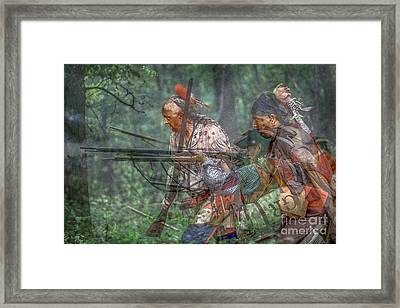 You Were There...battle Of Bushy Run Framed Print