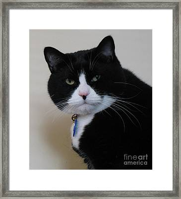 You What Framed Print by James E Weaver