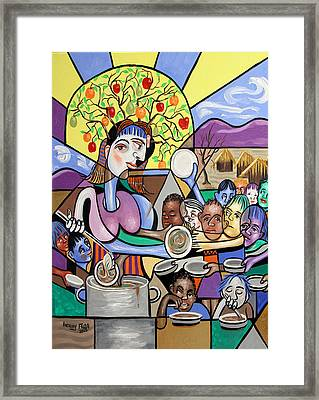 You Will Know Them By There Fruits Framed Print by Anthony Falbo