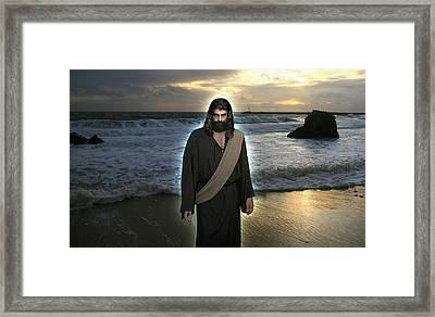 You Will Receive Power When The Holy Spirit Has Come Upon You Framed Print by Acropolis De Versailles