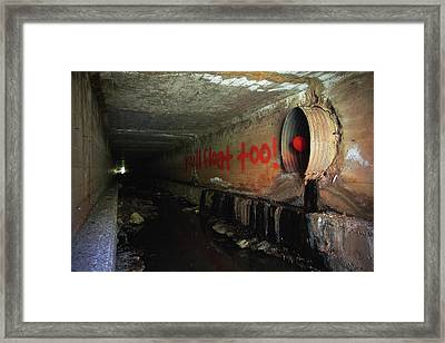 You'll Float Too Framed Print