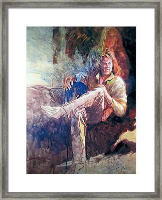 Young Americans Framed Print by Don Getz