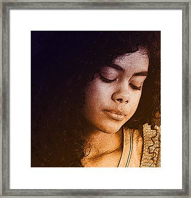 Young Angel Framed Print