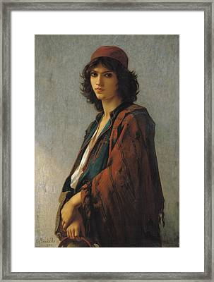 Young Bohemian Serb Framed Print