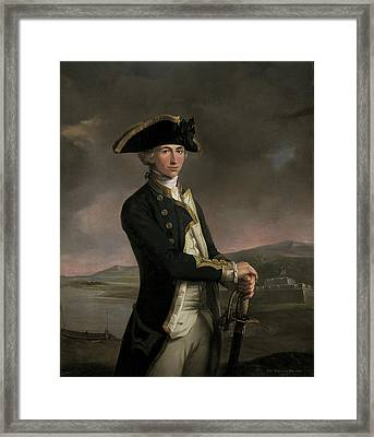 Young Captain Horatio Nelson Framed Print by MotionAge Designs