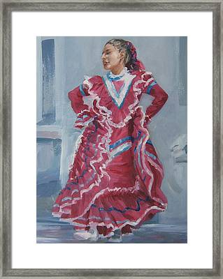 Young Dancer At Arneson Theater Framed Print