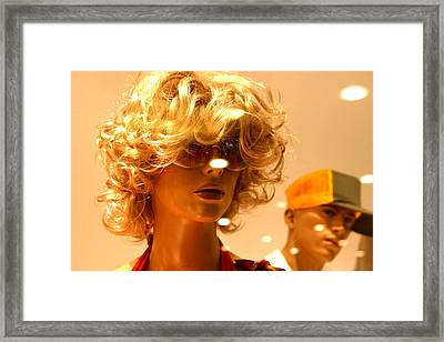 Young Dorothy Framed Print by Jez C Self