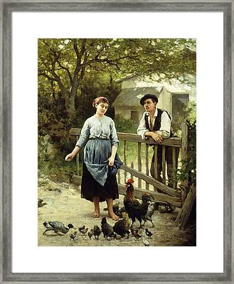 Young Farmers Framed Print