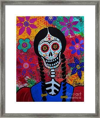 Young Frida Kahlo 2 Framed Print