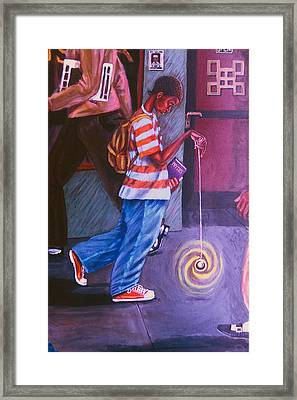 Young Life Framed Print by Malik Seneferu