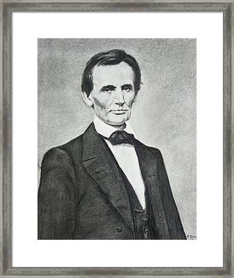 Young Lincoln Framed Print