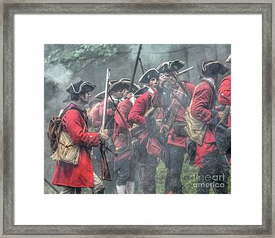 Young Lions French And Indian War  Framed Print