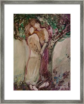 Young Love Framed Print by Deborah Nell