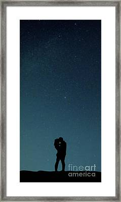 Young Lovers Framed Print by Edward Fielding