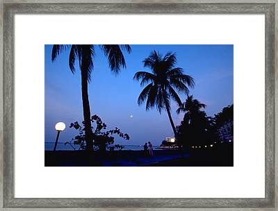Young Lovers In Penang Framed Print