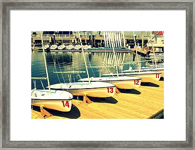 Young Mariner II Framed Print by Wendy Mogul