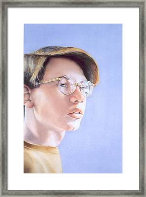 Young Nate Framed Print