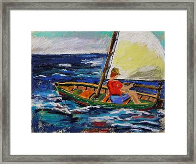 Framed Print featuring the painting Young Sailor by John Williams